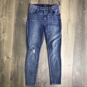 Lucky Brand Bridgette Skinny Distressed Jeans